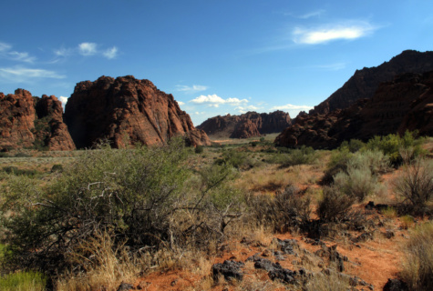 Snow canyon sandstone view for Zion motors st george