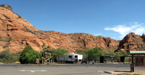 Image result for snow canyon state park camping