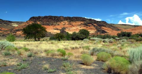 Snow Canyon Lava Flows