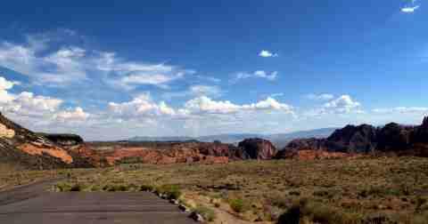 Snow Canyon Panorama