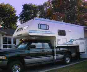 My 1996 Coachmen Campeur Sitting On A Dodge Ram