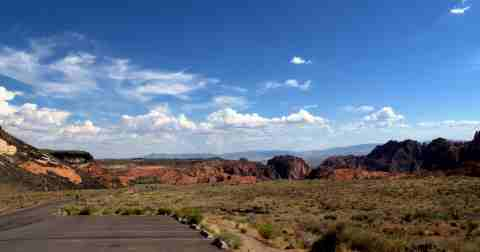 Snow Canyon Panorama