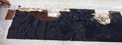 Damaged EPDM (WD Repair 6)