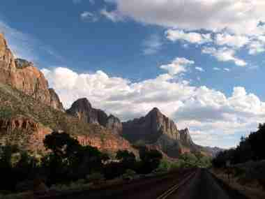 Zion National Prk Hwy 9