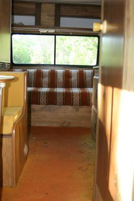 This is what a 1979 Dodge Honey Bee Looks Like<br> Before New Floors!